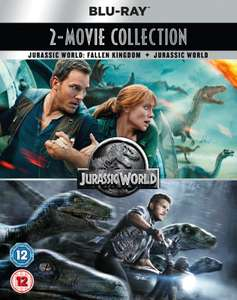 Jurassic World 2-Movie Collection 4k UHD £8 delivered @ youtuberdeals91 ebay