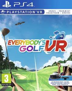Everybody's Golf (PSVR) (Nordic) - [PS4] - £9.50 @ CoolShop