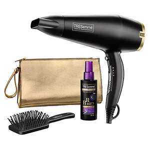 Hairdryer Gift Set by TRESemme £30 + £3.99 delivery at Look Again
