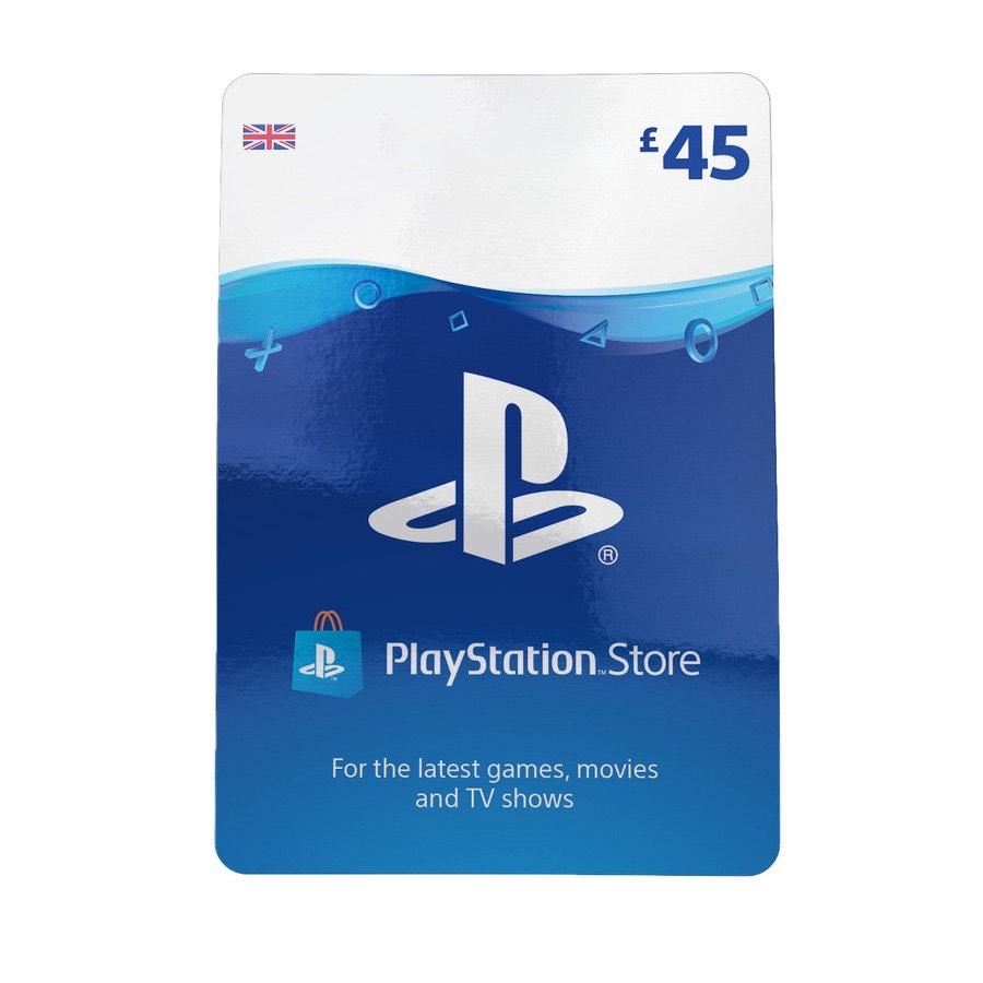 £45 PSN card for £37.85 @ ShopTo