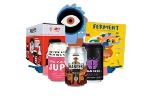 8 Craft Beers for only £4.95 including postage @ Beer52