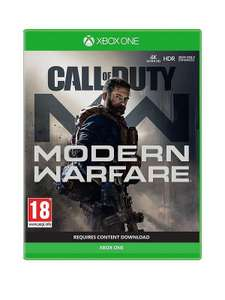 Call of duty modern warfare Xbox one & PS4 - £33.99 + £3.99 Delivery @ Very