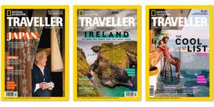 £1 -- 3 issues of National Geographic Traveller inc delivery @ Travelzoo UK