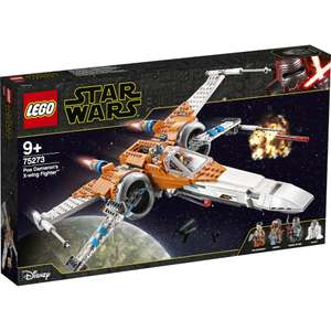 LEGO STAR WARS: Poe DAMERON'S X-Wing Fighter™ (75273) - £71.99 with code @ IWOOT