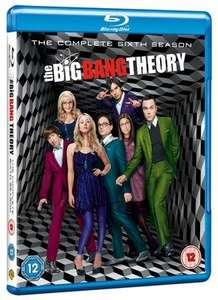 The Big Bang Theory: The Complete Sixth Season BluRay (used) - £1.99 @ Music Magpie
