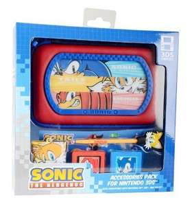 Sonic The Hedgehog 6-in-1 Accessory Kit (Nintendo 3DS/DS) £5.78 delivered at Clearanceshed