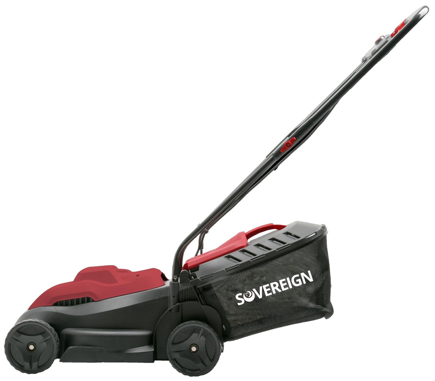 Sovereign Lawn Mower 32cm 1000W - £39 @ Homebase (+P&P £6)