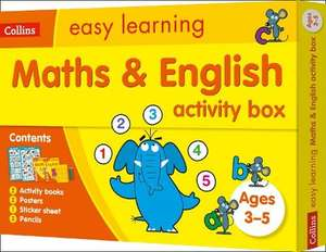 Maths and English Activity Box Ages 3-5: Ideal for Home Learning - £6 + £2.49 Delivery @ WH Smith