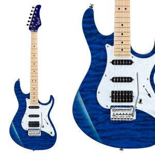 Cort G Series G250DX Electric Guitar - Transparent Blue - £199 Delivered @ Kenny's Music