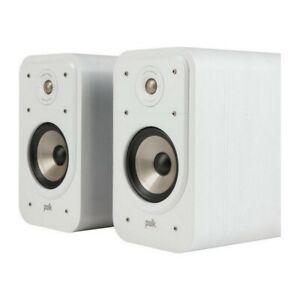 Polk Audio Signature S20e white walnut bookshelf HiFi stereo speakers - £116.85 Delivered @ Hyperfi