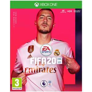FIFA 20 deal for Xbox - £37.98 delivered at GAME