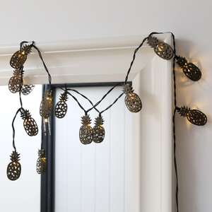 Pineapple LED String Lights - £2 delivered @ Lisa Angel Jewellery