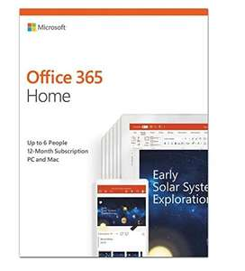 Microsoft Office 365 Home (Up to 6 users / 1 year / PC/Mac download) £49.99 @ Amazon