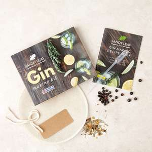 Gin Making kit £7.99 - Sold by Sandy Leaf Farm Ltd and Fulfilled by Amazon. (+£4.49 Non-prime)