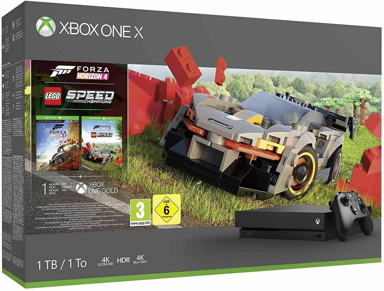 Xbox One X Forza Horizon 4 & LEGO Speed Champions Bundle, £269.99 at Smyths Toys