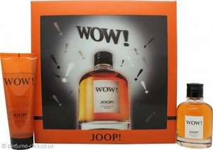 Joop! Wow! Gift Set 60ml EDT + 75ml Shower Gel £21.65 + £1.95 delivery @ Perfume Click