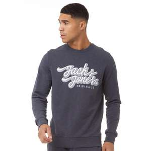 Jack & Jones Mens Hasp Sweatshirt Now £6.99 @ M&M Direct (Delivery is £4.99 or Free with Premier)