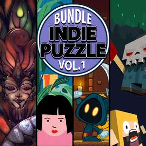 Indie Puzzle Bundle [Glass Masquerade / Letter Quest Remastered / Pipe Push Paradise / Pipe Push Paradise] Switch £5.39 @ Nintendo eShop