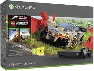 Xbox One X Forza Horizon 4 + Lego Speed Champions Bundle (1TB) £279.00 / £249 with new user credit account @ Very (£3.95 P&P)