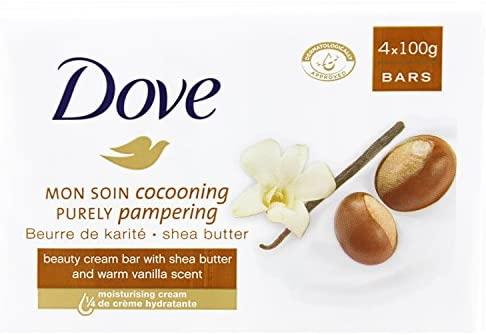 Dove Shea Butter Beauty - 24 Bars (Four Bars / Pack of 6) £12 (Prime) £16.49 (Non-Prime) @ Amazon