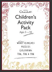 Free printable kid's activity pack from Hotel Chocolat