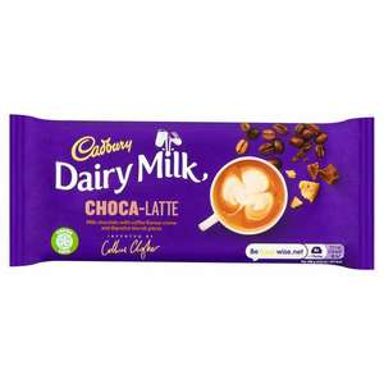 Cadburys Dairy Milk Choca-latte bars 49p instore @ Farmfoods Plymouth