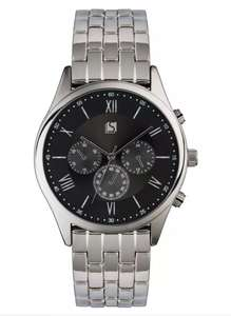 Spirit Men's Silver Stainless Steel Bracelet £20.94 Delivered @ Argos