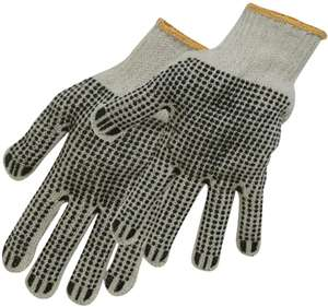 Silverline 783131 Double Sided Dot Gloves 64p + £4.49 NP @ Amazon