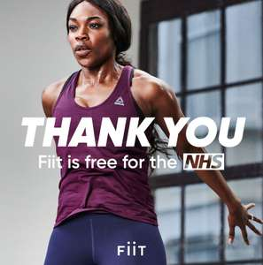Free 3 Month Fiit Premium App Subscription For NHS staff