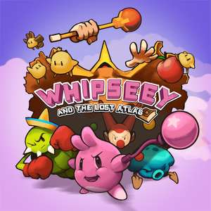 Whipseey and the Lost Atlas Nintendo Switch eshop 84p
