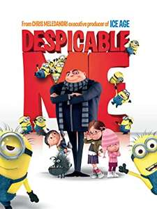 Despicable Me 1, 2 and 3 movies (and Hotel Transylvania) £3.99 EACH to own in 4K UHD @ Amazon prime video