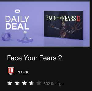 Face your Fears 2 Oculus Quest £10.99 @ Oculus