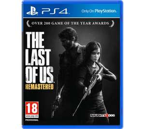The Last of Us Remastered (PS4) - £9.99 Delivered @ Currys PC World