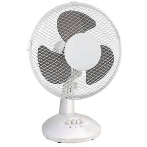"Airmaster 9"" desk fan - £9.98 + £5 Delivery @ Toolstation"