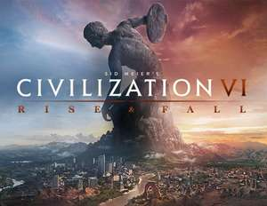 Civ VI Rise & Fall + Gathering Storm DLC - £15.89 @ Steam Store