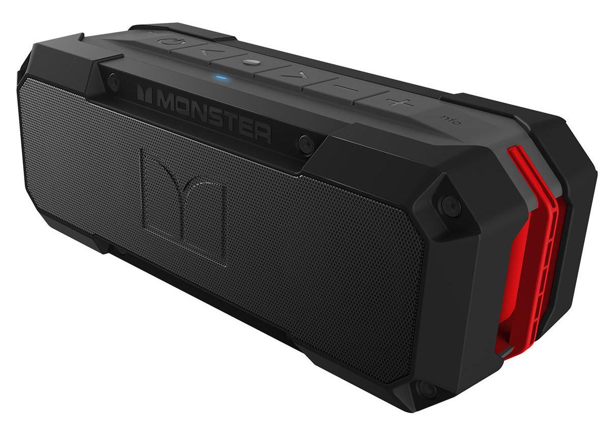Monster Adventurer Weatherproof Bluetooth Speaker - £29.89 delivered @ Costco
