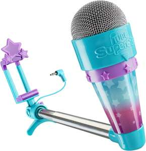 Tube Superstar - Vlog Star Vlogging Kit with App and Toy Microphone £10.57 (Prime) / £15.06 (non Prime) at Amazon