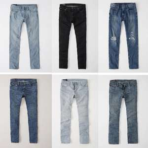 Mens Jeans now from just £17.99 + Free Delivery @ Abercrombie & Fitch