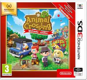 Nintendo Selects - Animal Crossing New Leaf: Welcome amiibo (Nintendo 3DS) £13.99 Prime / £16.98 Non Prime @ Amazon