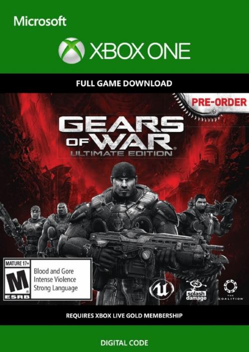Gears of War: Ultimate Edition Xbox One - Digital Code £1.99 at CDKeys