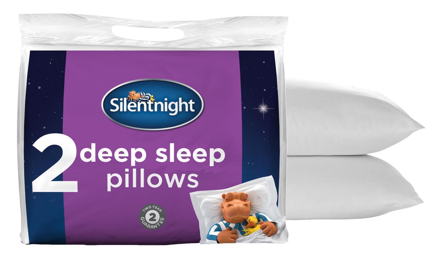 2 Silentnight Deep Sleep Pillows £9.99 delivered, using code @ Groupon