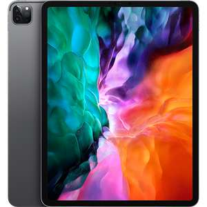 Apple IPAD Pro 2020 12.9 (256GB) pay monthly (48 months) with 6 months Disney+, 1 year Apple TV + only £1,124 or £46 per month 24GB data