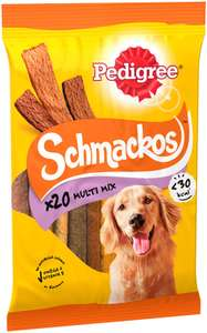 Pedigree Schmackos - Dog Treats Meat Variety, 180 Strips - £9 (Prime) £13.49 (Non Prime) @ Amazon