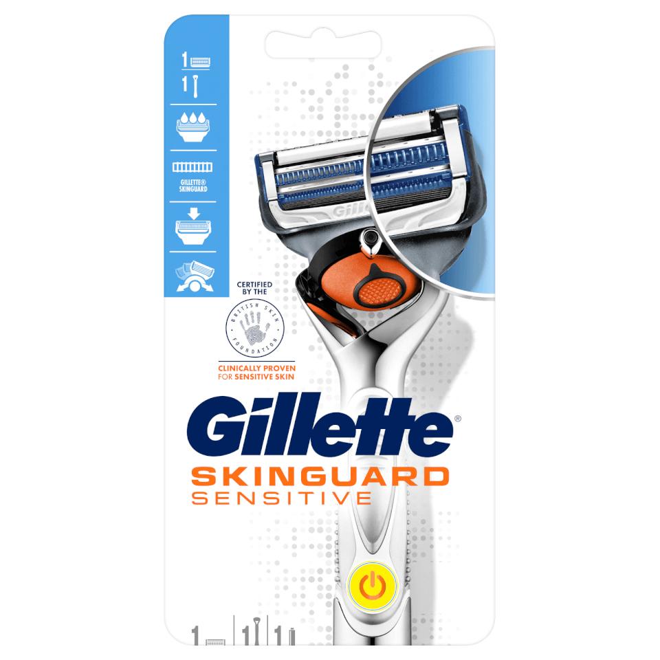 Gillette Skingaurd Sensitive Flexball Power Razor £6.99 @ Gillette