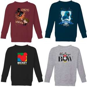 Mix & Match - Two Kids Sweatshirts for £14.99 + Free Delivery @ IWOOT