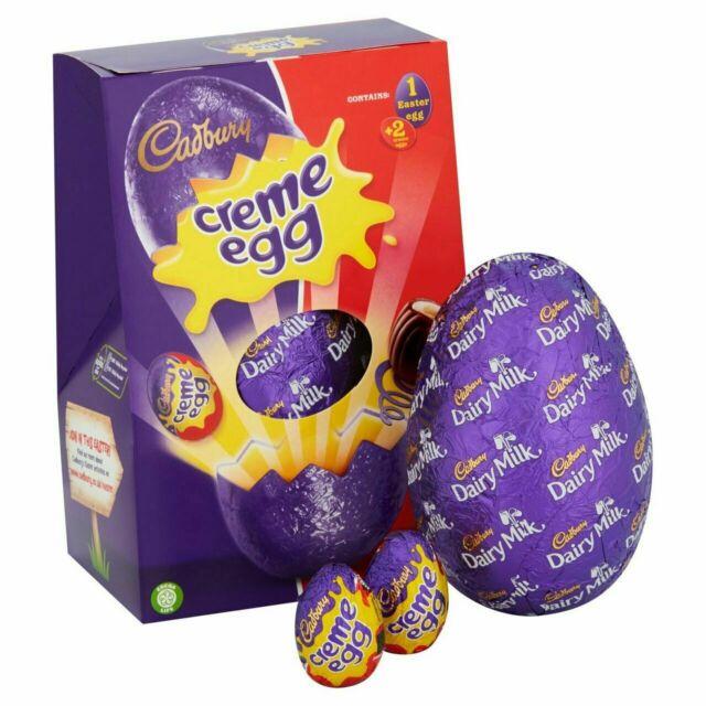 Cadbury Creme Egg Easter egg 97p at Sainsburys instore
