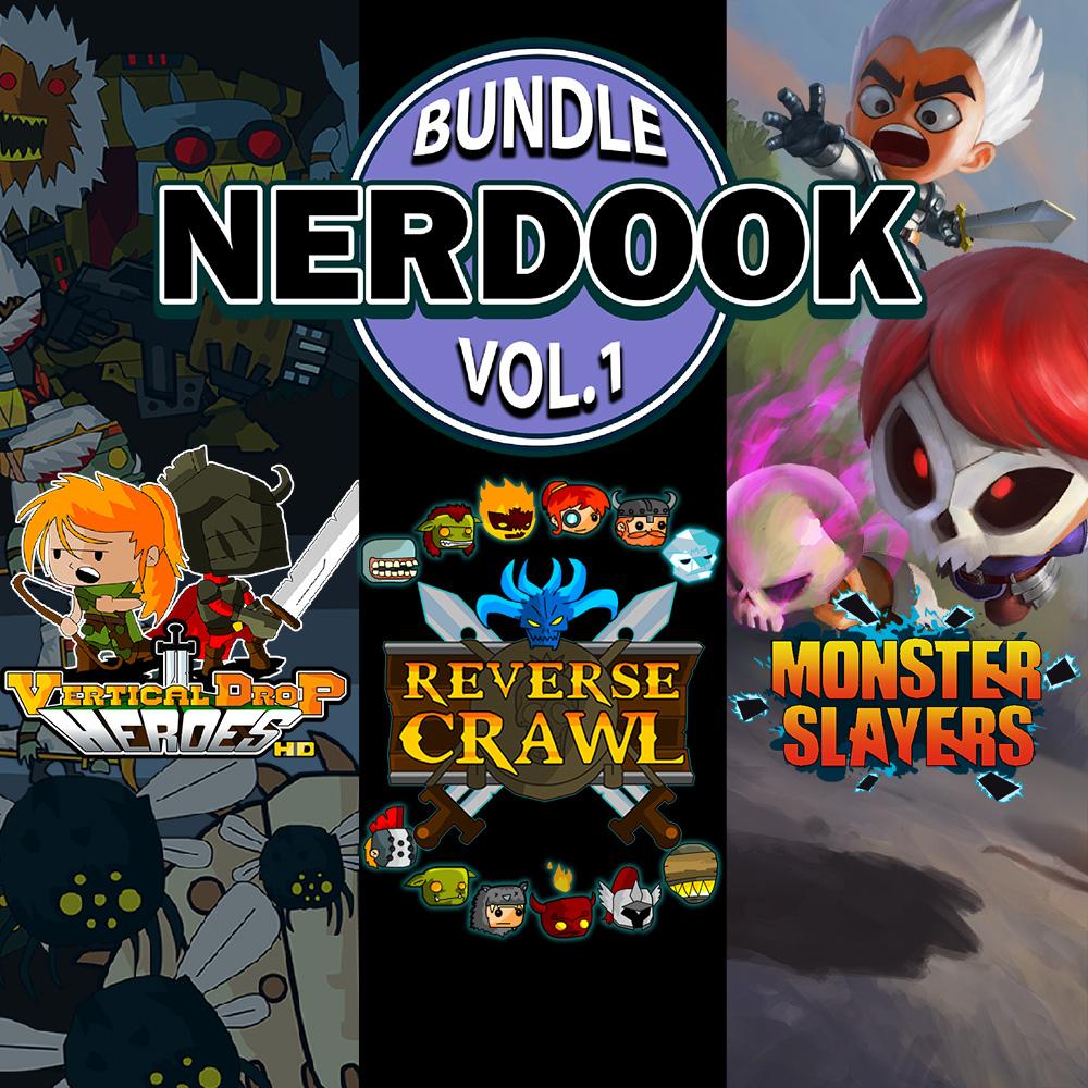 Nerdook Bundle Vol. 1 (Monster Slayers / Reverse Crawl / Vertical Drop Heroes) for Nintendo Switch £4.04 @ Nintendo eShop