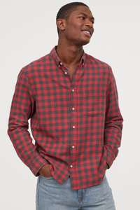 Up To 60% Off on loads of items (Mens, Woman & Accessories) e.g. Men's Cotton Shirt - £9 @ H&M + Free Delivery