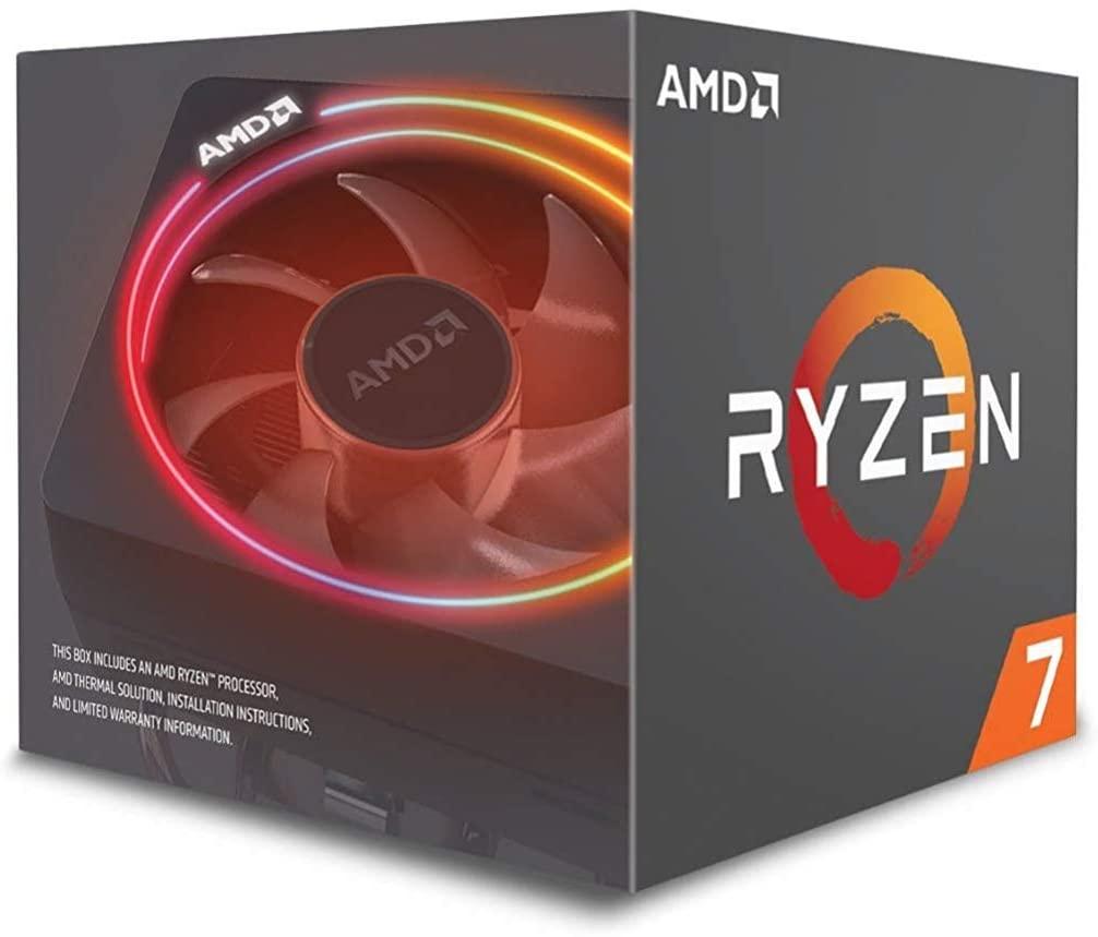 AMD YD270XBGAFBOX Ryzen 7 2700X Processor with Wraith Prism RGB LED Cooler - £174.97 @ Amazon