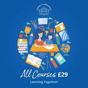 Centre of Excellence online courses - ALL £29 with code @ Centre of Excellence